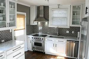 gray subway tile backsplash design ideas With what kind of paint to use on kitchen cabinets for multi coloured canvas wall art