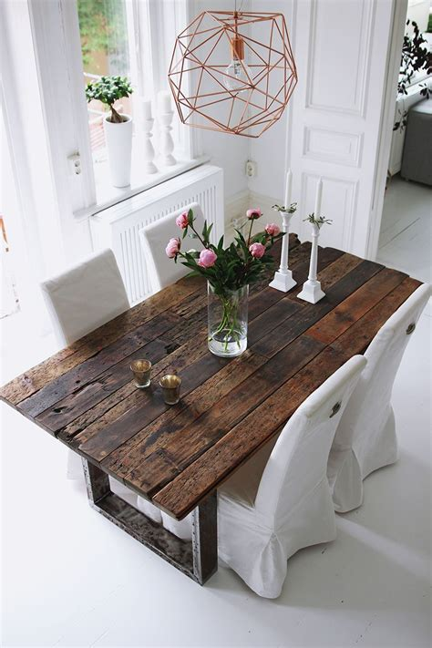 Rustic Dining Table by Rustic Table Bykiki Se Industrial Design Farmhouse