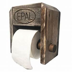 Balkonmöbel Aus Europaletten : toilettenpapier halterung aus palettenholz europaletten m bel shop ~ Orissabook.com Haus und Dekorationen