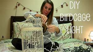 BIRDCAGE LIGHT DECOR - YouTube