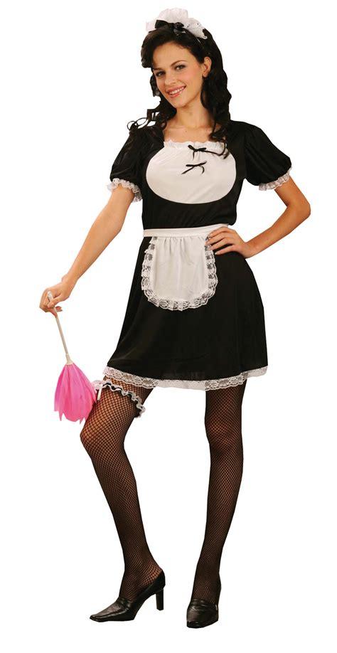 deguisement femme de chambre uniforme de soubrette déguisement femme de chambre