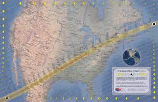 April 8 2024 Solar Eclipse Map