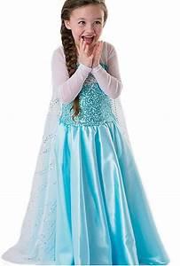 robe princesse reine des neiges frozen costume enfant With robe de reine