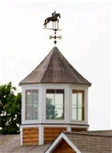 Old Barn Cupolas and Weathervanes