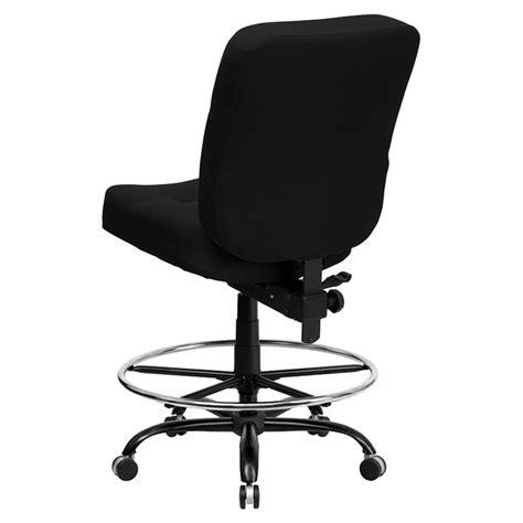 hercules series big and drafting chair black