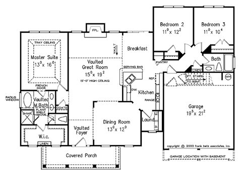 Split Bedroom Floor Plan by Split Bedroom Floor Plans 1600 Square House Plans