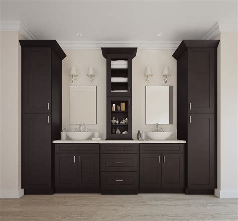 brazilian shaker ready  assemble bathroom vanities