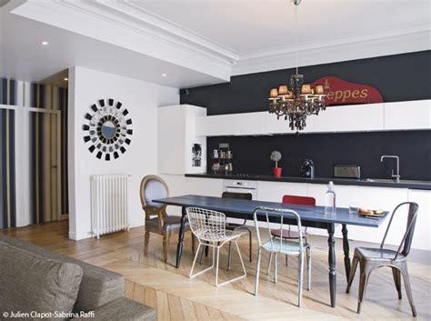 decoration salon cuisine ouverte decoration interieur cuisine ouverte