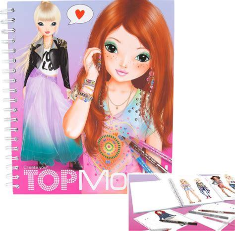 Topmodel Livre à Colorier Create Your Topmodel Louise Et Lexy