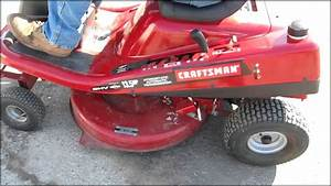 Craftsman 10 Hp 30 Inch Riding Lawn Mower Reviews