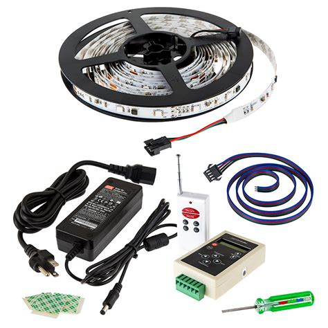 rgb led light kit color chasing 12v led light