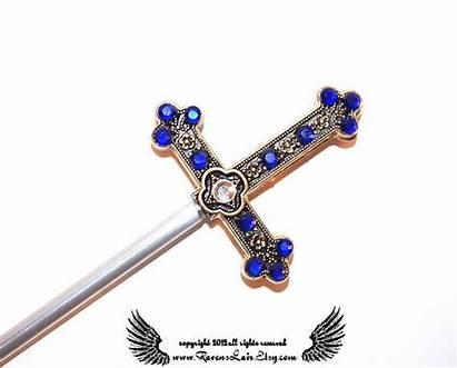 Jeweled Dagger Hair Sword Romeo Swords Romeos