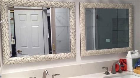 hang bathroom mirrors  center youtube