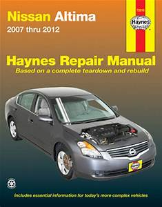 Nissan Altima Haynes Repair Manual  2007-2012