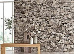 tapeten trends 2018 schone tapeten fur dein zuhause otto With balkon teppich mit struktur tapete steinoptik