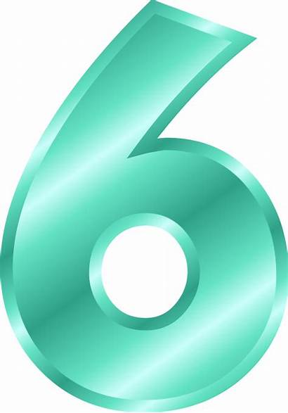 Number Number6 Numbers Pngimg