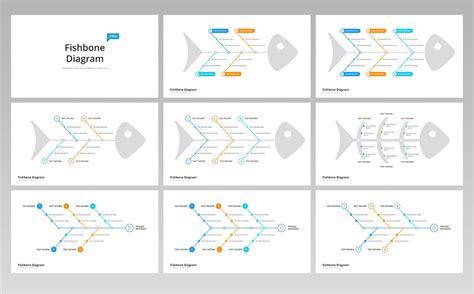 fishbone ishikawa diagram  template  keynote