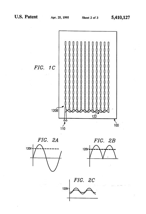 Wiring For Electric Blanket by Patent Us5410127 Electric Blanket System With Reduced