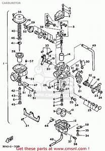 Yamaha Xt250 Dual Purpose 1984  E  Usa Carburetor
