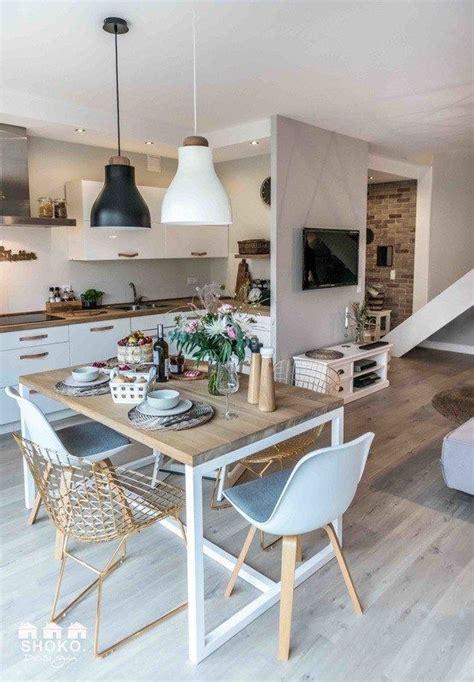 deco maison cuisine ouverte les 25 meilleures idées concernant décoration intérieure