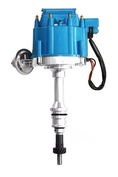 Electric Motor Distributors by Blue Ford Hei Distributor W 50k Electronic Ignition Coil