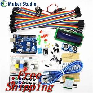 Advanced Kit For Arduino Uno  With User Guide For Arduino