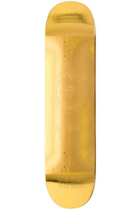 """Primitive Gold Bar 8"""" Deck Koop Bij Skatedeluxe"""