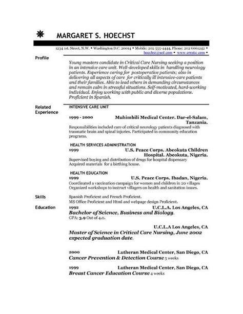 Resume Genius Resume Career Objective Writing Guide by Exle Of An Resume Elementary Resume Sle