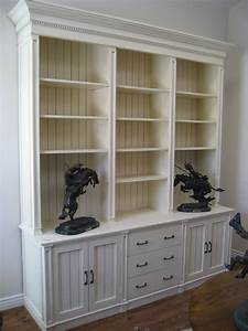 15, Bookcase, With, Bottom, Cabinets