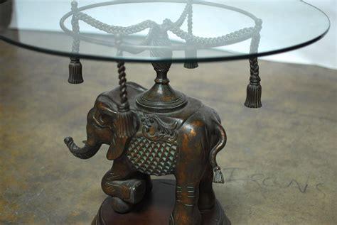 elephant tables for sale bronze elephant pedestal side table for sale at 1stdibs