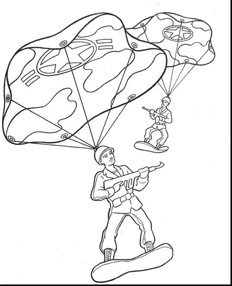 Army Coloring Pages Soldier 1931870