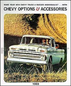1965 Chevy Pickup  U0026 Truck Repair Shop Manual Original