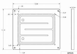 Controller Chill Plate Fits Curtis Controllers 1236se