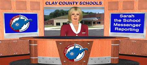 current clay county schools