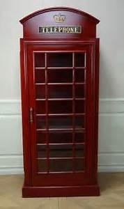 Englische Telefonzelle Deko : englische telefonzelle deko vitrine schrank kaufen bei helga freier ~ Frokenaadalensverden.com Haus und Dekorationen