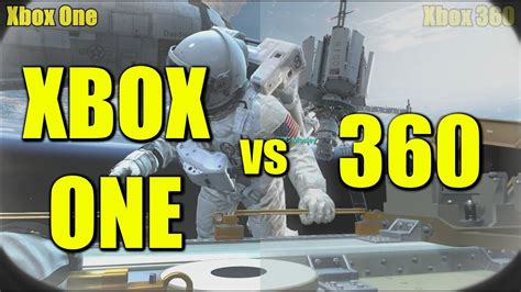 Kaos One One Graphic 7 xbox one vs 360 graphics comparison cod ghosts xbox one