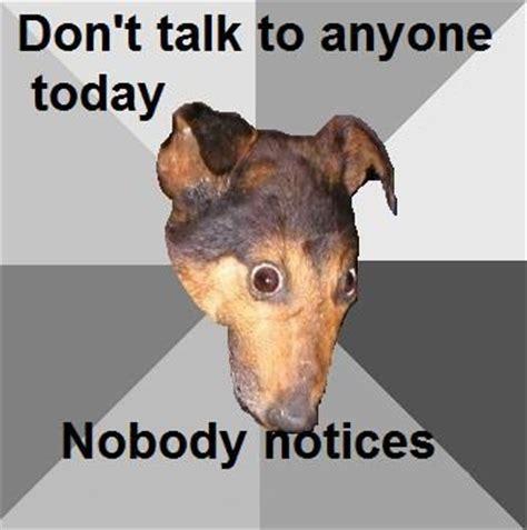 Depressed Meme Face - depression dog know your meme