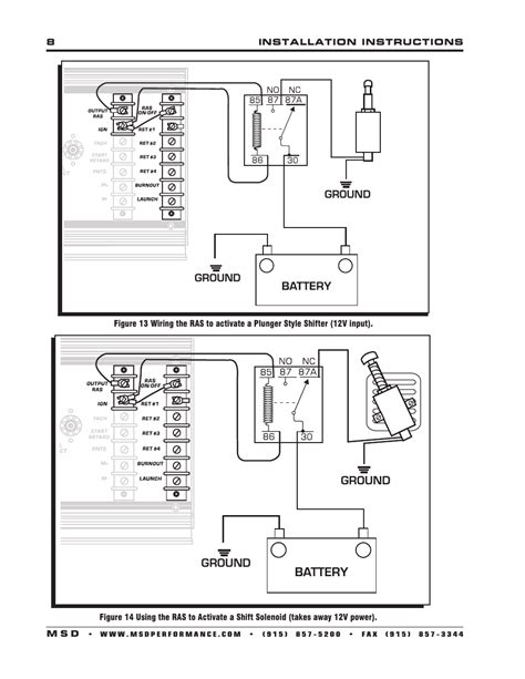 Msd 7al 3 Wiring by Msd 7330 7al 3 Ignition Installation User Manual