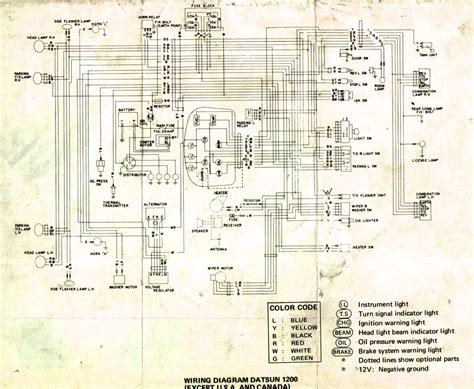 wiring diagram for nissan 1400 bakkie 8 nissan