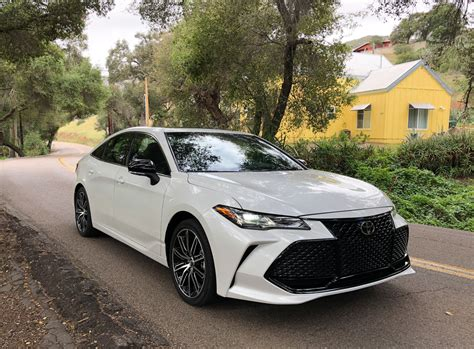 2019 Toyota Avalon First Drive Review No More Boring