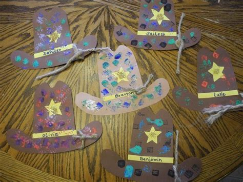 rodeo crafts for preschoolers cowboy hats from goose time https www 364