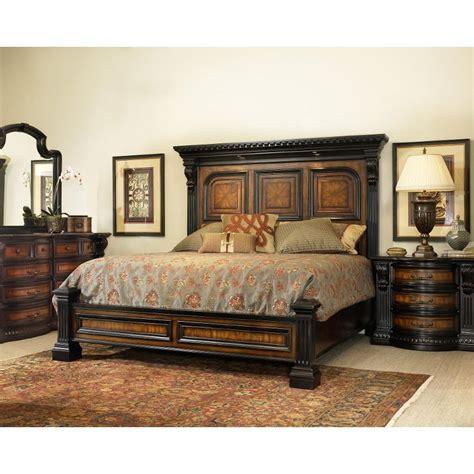 california king bedroom furniture grand estates cinnamon 6 cal king bedroom set