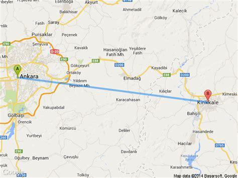 Van Ankara Arası Kaç Km