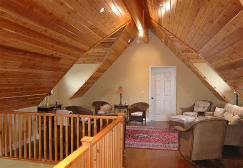 finish  attic walls  ceiling