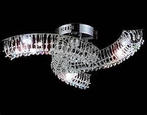 Led Kristall Leuchte : alitre led kronleuchter kristall deckenleuchte leuchte l ster deckenlampe lampe ebay ~ Markanthonyermac.com Haus und Dekorationen
