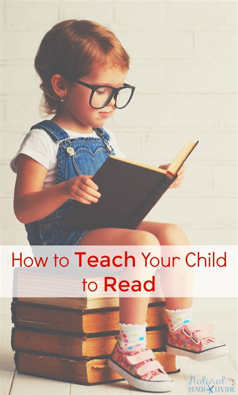 How To Teach A Child To Read  Natural Beach Living
