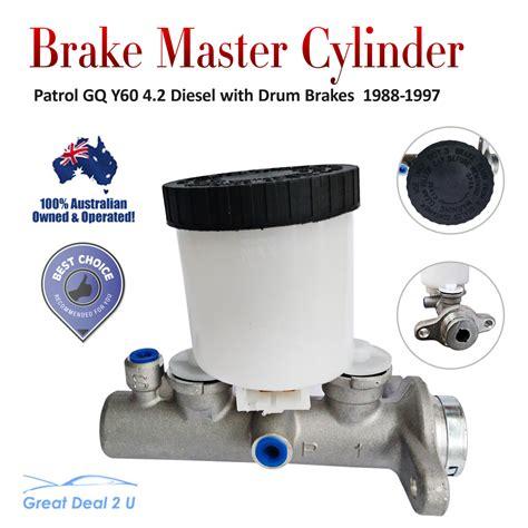 nissan patrol brake master cylinder gq y60 4 2 diesel tb42 td42 6cyl engine88 97 ebay