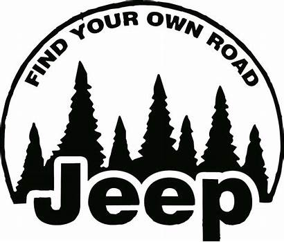 Road Own Jeep Decal Decals Graphics Drew