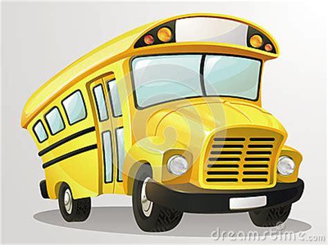 school bus vector cartoon stock vector image