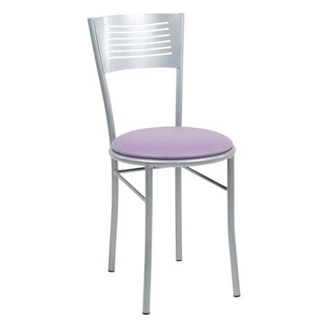 chaise de cuisine confortable chaise de cuisine rétro en métal et synthétique